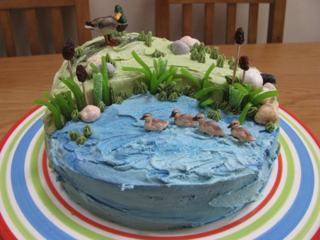 Wetlands cake © The House of Jones